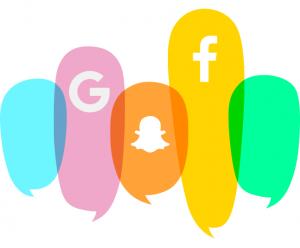 Facebook, Google and Snapcha